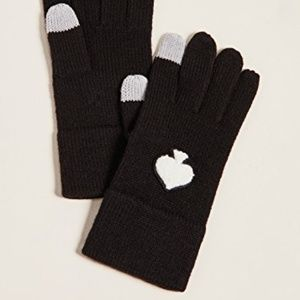 Kate Spade Spade Tech Gloves. Black.NWT!
